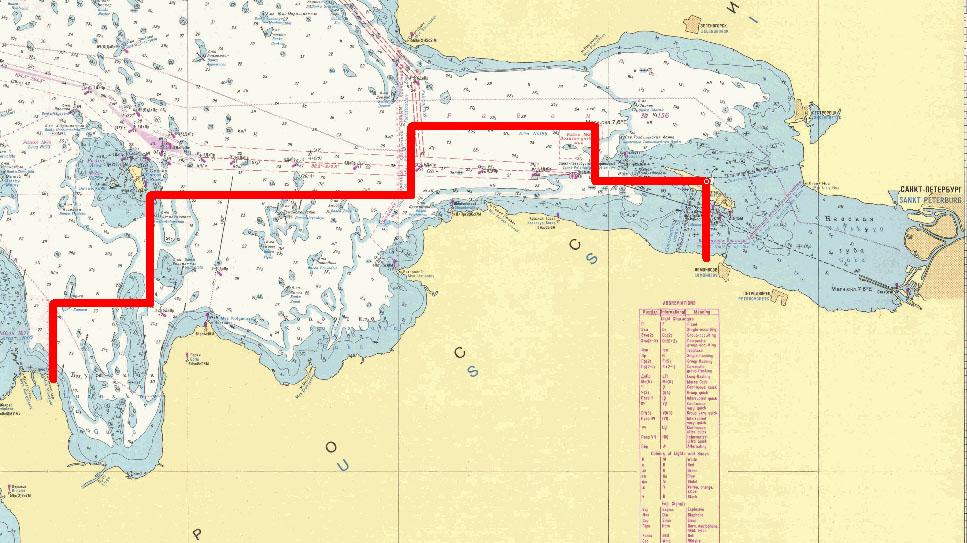 карта рыбалки финского залива